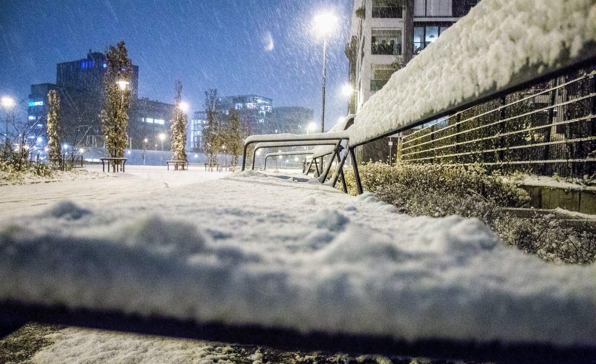 Schnee Karlsruhe